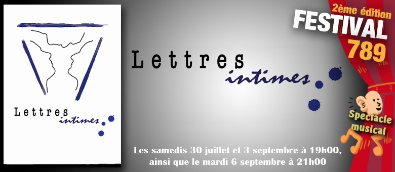 Lettres intimes F789 2016