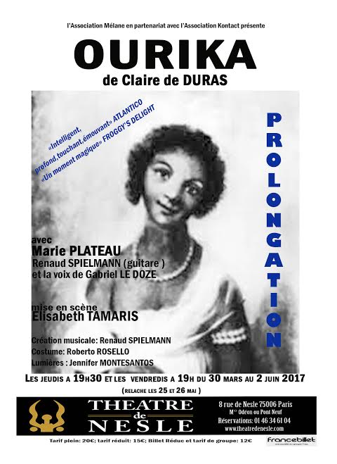 ourika by claire de duras essay Member of the executive board of the society for french studies  introductory essay and new edition of late poems with translations  claire de duras, ourika.